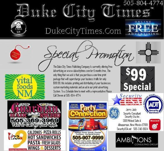 DukeCityTimes.com First print flyer