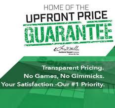 upfront-price-gurantee